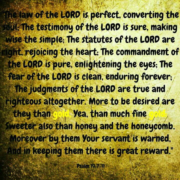 The Law of the Lord