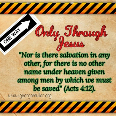 Only Through Jesus