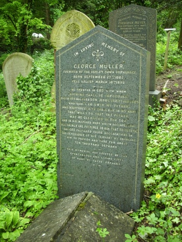 George Muller Grave